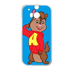 HTC One M8 Shell Phone Case for Classic Theme Alvin and the chipmunks comic Cartoon pattern design GAATC191403