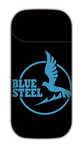 Blue steel arpeggios iQOS seal A pattern Black