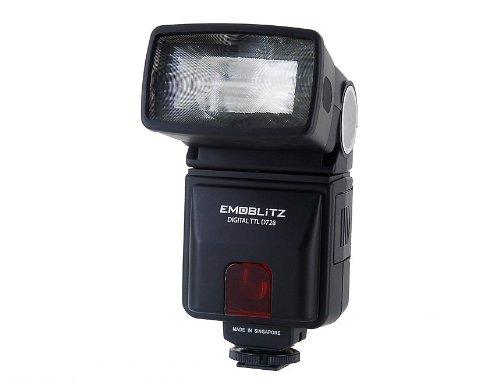 d728afデジタルAutofocus Flashgun (ブラック)   B009BI1DJ4