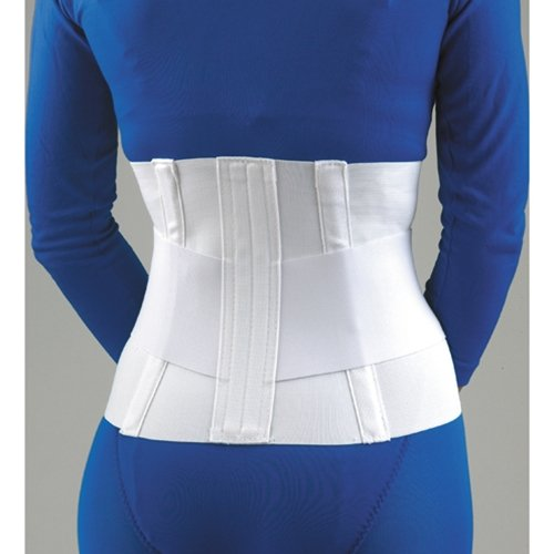 FLA Lumbar Sacral Back Support with Abdominal Support Height Size: 4X-Large (53 - 56