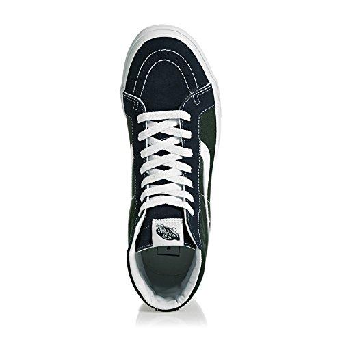 Bestelwagen Sk8-hi Unisex Casual Skateschoenen Met Hoge Top, Comfortabel En Duurzaam In Kenmerkende Wafelrubberen Zoolschijf Zwart Wit