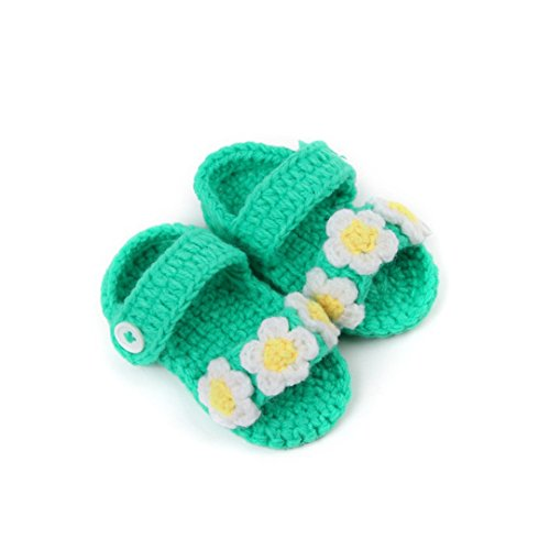 DDLBiz Girls Crochet Handmade Infant