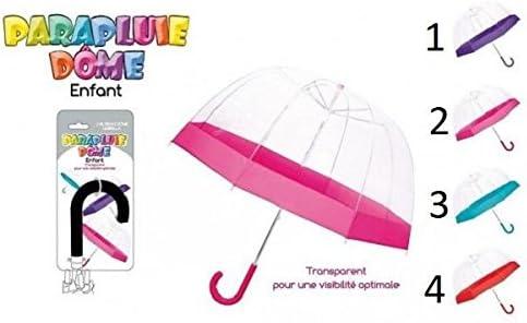 Accessoire Pluie Enfant 064 Mod 1 Violet Parapluie Dome Enfant