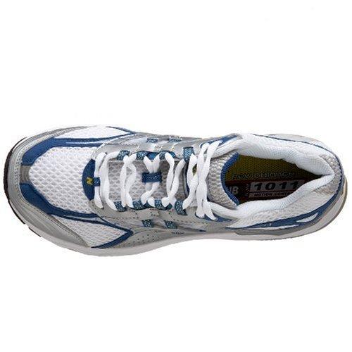 Nuovo Equilibrio Womens Wr1011 Motion Control Running Shoe Bianco / Blu