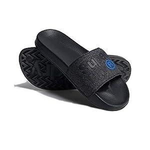 Superdry Lineman Pool Slide, Chaussures de Plage & Piscine Homme