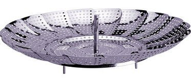 Lifetime Brand 5070520 Stainless Steel Steamer Basket - Pack Of 3 by Lifetime