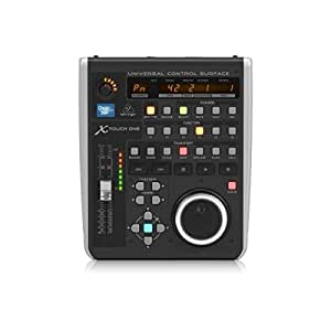 Behringer X-Touch ONE Universal Control Surface with Touch-Sensitive Motor Fader and LCD Scribble Strip