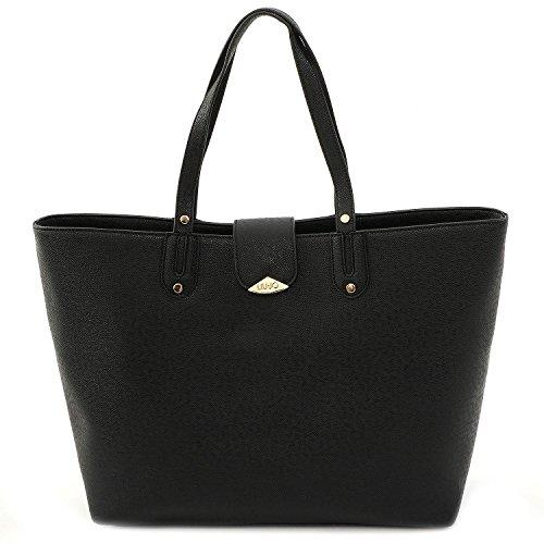 LIU JO KOS SHOPPING BAG - A16035E0087 22222 BLACK