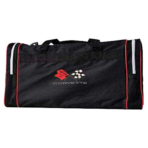 (Eckler's Premier Quality Products 25-333659 Corvette Duffel Bag With C3 Embroidered)