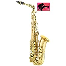 Band Director Recommended Student Alto Saxophone with FREE $15 iTunes Gift Card