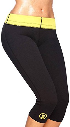 59365b354d Image Unavailable. Image not available for. Colour  Hot Shaper Slimming  Belt Pant Black Large