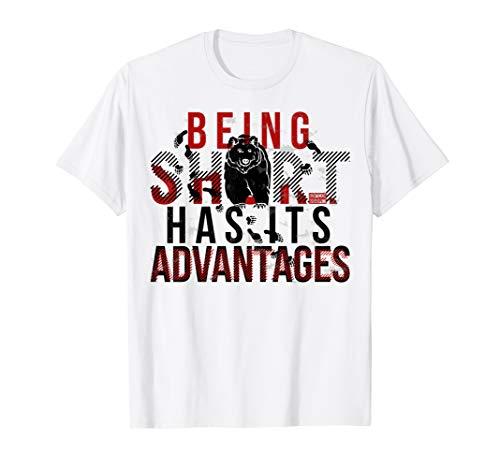 BEING SHORT HAS ADVANTAGES BEAR BEARISH STOCK MARKET T-Shirt