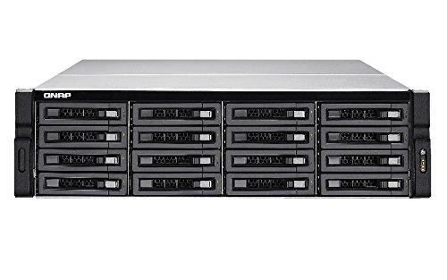QNAP TS-EC1680U R2 Ethernet Bastidor (3U) Negro, Gris NAS - Unidad Raid (Unidad de Disco Duro, SSD, Serial ATA II,Serial ATA III, 2.5/3.5