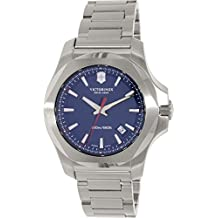 Victorinox Swiss Army Men's I.N.O.X. 241724.1 Silver Stainless-Steel Swiss Quartz Watch