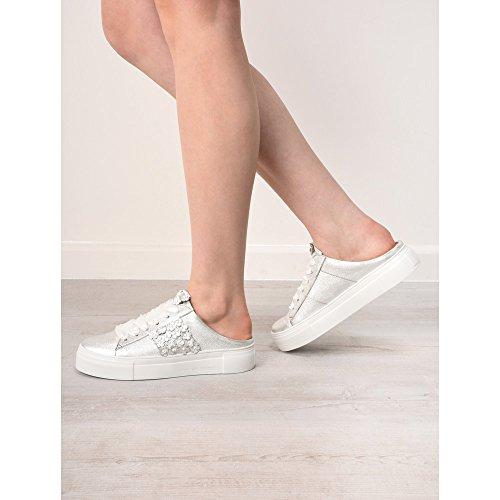 Schmenger Slide Silver und Big Flower Kennel Shoe TPW0wqxn