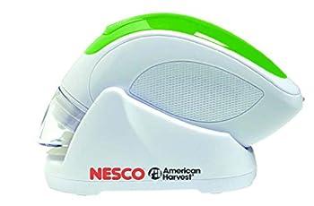 Nesco VS-09HH Hand Held Vacuum Sealer, White/Green