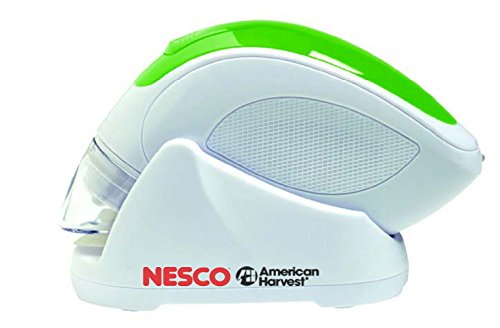 Nesco VS-09HH Hand Held Vacuum Sealer, White/Green - Green Rechargeable Vacuum