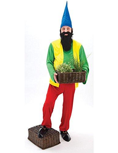 5ff09978ee2 Bashful Dwarfs Gnome Costume  Amazon.co.uk  Toys   Games