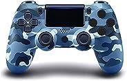 Controlador sem fio PS4, com Joystick de Jogo Campo de Vibração Dupla, Compatível com Console Playstation 4/Sl