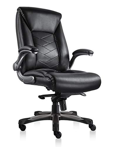 ORVEAY Heavy Duty Executive Office Chair High Back Swivel Office Chair with Comfortable Flip up...