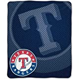 Texas Rangers 50''x60'' Retro Style Royal Plush Raschel Throw Blanket