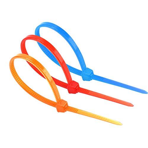 b830b5c2660b 480pieces 4'' Nylon Cable Ties Self-Locking Zip Ties Multi-Color ...
