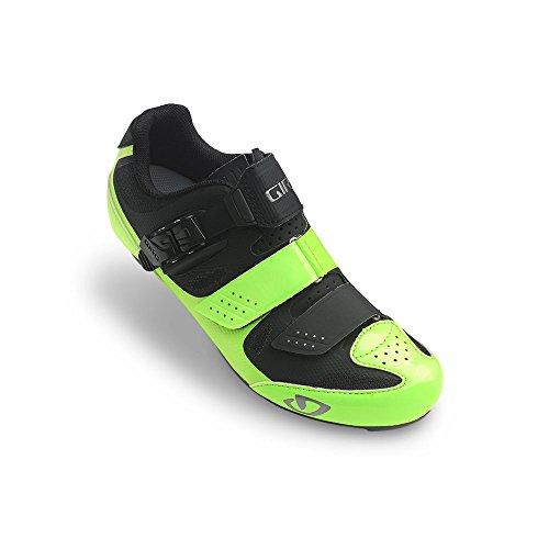Giro Solara II Womens Road Cycling Shoes Highlight Yellow/Black 41