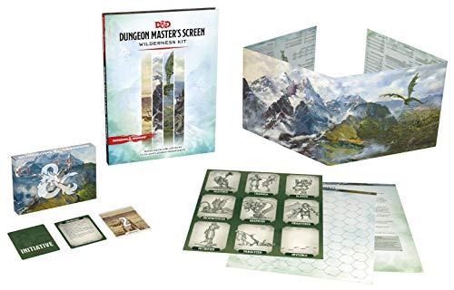 Dungeons & Dragons Dungeon Master's Screen Wilderness Kit (D&D Accessories)
