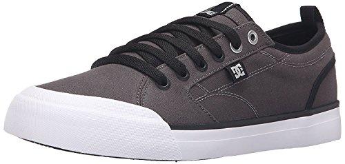 DC Mens Evan Smith TX Skate Shoe, Gris/Negro, 41 D(M) EU/7.5 D(M) UK