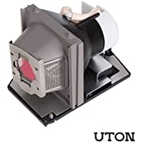 2400MP Projector Bulb with Housing Replacement for DELL 2400MP Projector (Uton)
