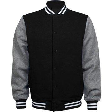 Review Customized Girl Personalized Varsity Jacket: Unisex Fleece Letterman Varsity Jacket