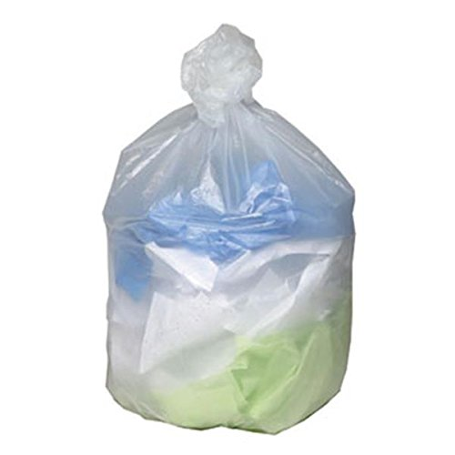 WP000-WHD4011 WHD4011 Ultra Plus Trash Liners 31-33 Gal Clear 500 Per Box From Webster Industries -# WHD4011