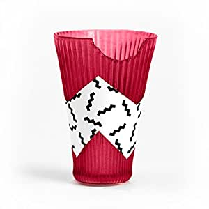 Loliware Edible Cups | Tart Cherry 4-Pack