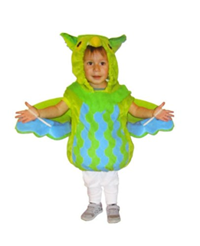 Toddler Baby Infant Green Owl Bird Halloween Costume (6-12 Months Infant, Green Owl)]()
