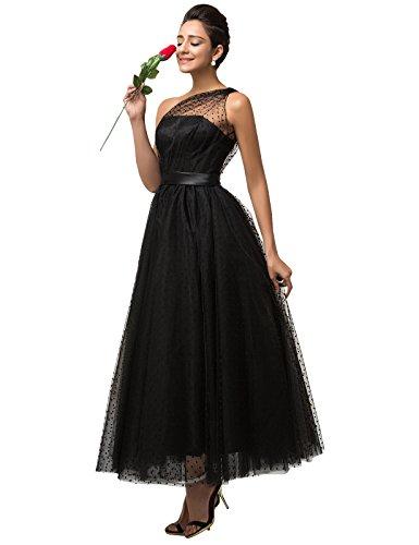 Grace Karin - Vestido para mujer Negro