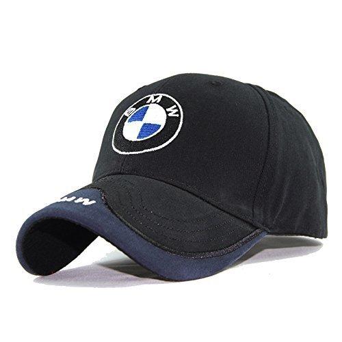 - OSIRCAT Car Logo Adjustable Baseball Cap,Unisex Hat Travel Cap Car Racing Motor Hat Black for BMW