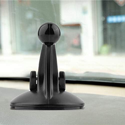 62mm Parabrezza per Auto Ventosa per Auto Supporto per Supporto per Garmin Nuvi GPS Facile da installare ToGames-IT Nero 55
