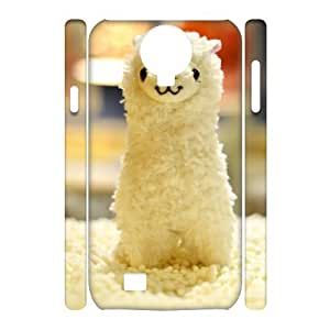 ALICASE Diy Case Lama Pacos Cover For Samsung Galaxy S4 i9500 [Pattern-1]