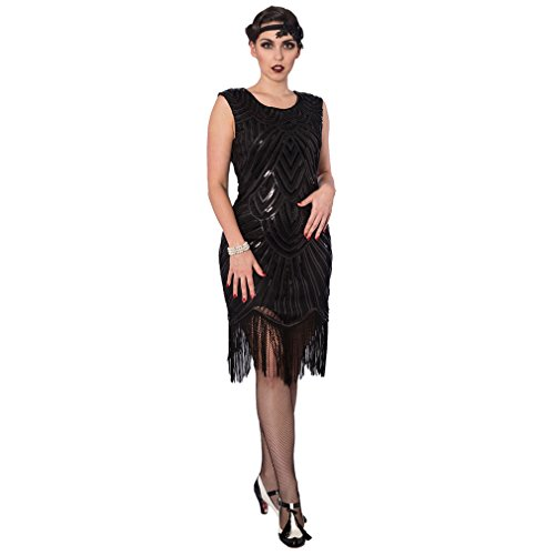 Kleid Schwarz Charlotte Dancing Flapper Days X6qxEv