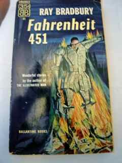 Fahrenheit 451. Science Fiction- Roman.
