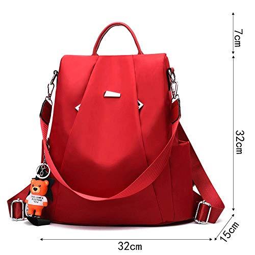 La Oxford Lona Versión De Coreana Salvaje Marea Bag Messenger Damas Mochila Moda Bandolera Casual Viaje Femenina E Bolsa Abc Tela 6xXA8qn