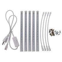 Lukalook T5 LED SMD 5730 Grow Light Bar Lamp AC 85-265V Full Spectrum Hydroponic Plant
