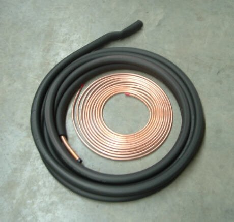 (3/8 3/4 50' Insulated Line Set for Central Heating and Air Conditioner Systems)