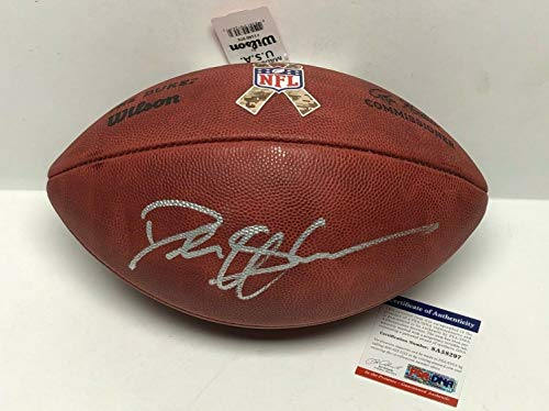 Deion Sanders Autographed Signed Autograph Duke Salute To Service NFL Football Military PSA/DNA from Sports Collectibles Online