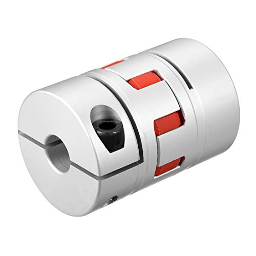 uxcell Shaft Coupling 16mm to 16mm Bore L78xD55 Flexible Coupler Joint for Servo Stepped Motor by uxcell