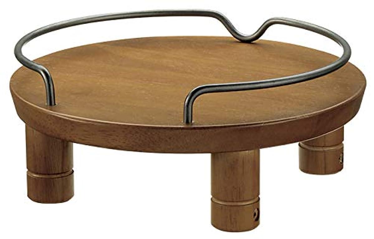 [해외] 리첼 반려동물 목제 테이블 싱글 브라운