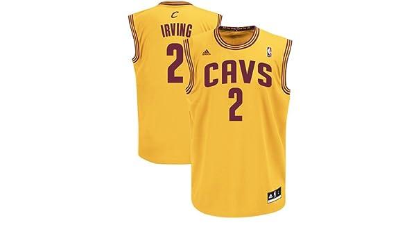 NBA Cleveland Cavaliers Kyrie Irving # 2 la réplica de la camiseta de los hombres, Marino: Amazon.es: Deportes y aire libre