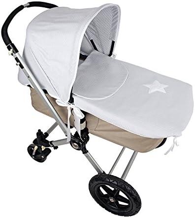 Colcha y Capota para cochecito Bugaboo color gris: Amazon.es: Bebé