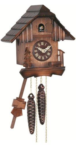Engstler Quartz Cuckoo Clock Black forest house EN 420/1 Q