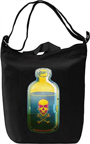 Poison Borsa Giornaliera Canvas Canvas Day Bag| 100% Premium Cotton Canvas| DTG Printing|